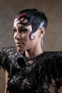 foto monic modelo Danny wella trend vision 2012