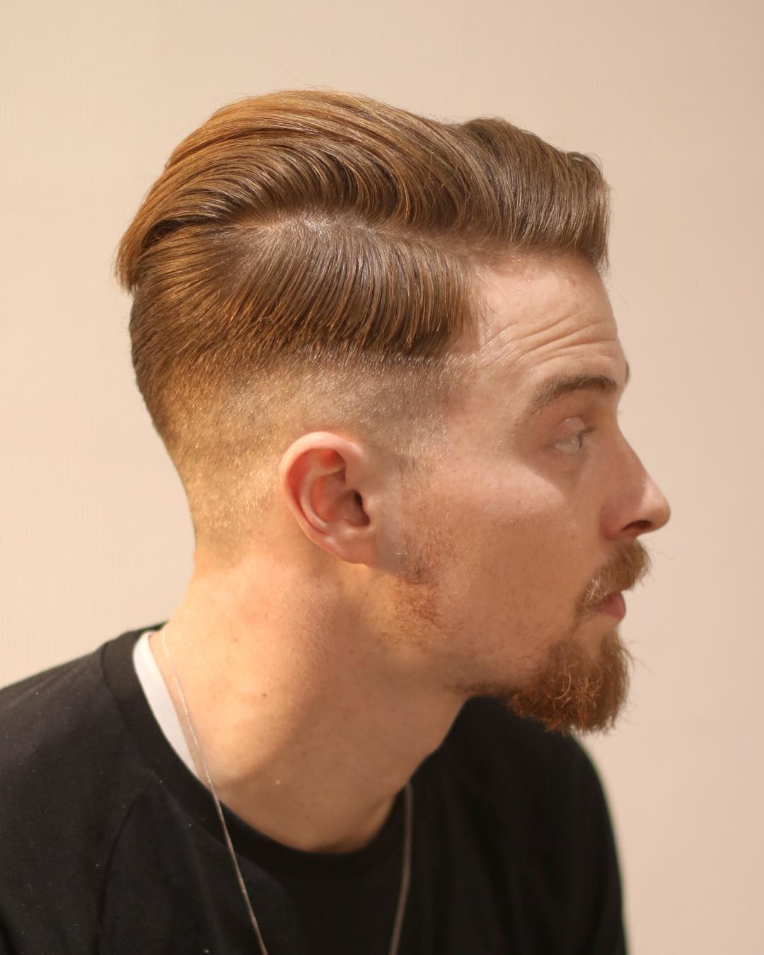 Haircut fade lengths